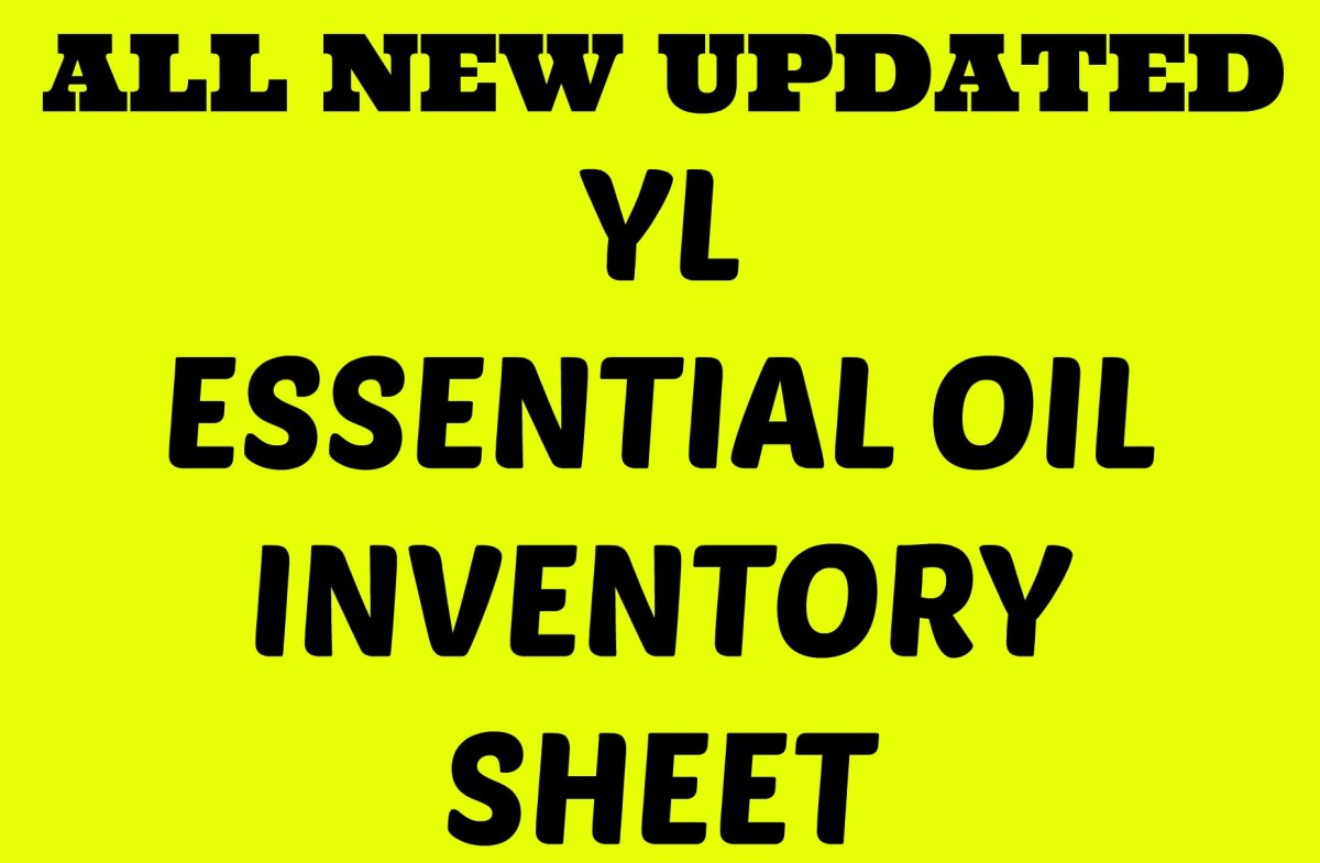 Yleo Inventory Sheet Updated The Mommy Fast Lane
